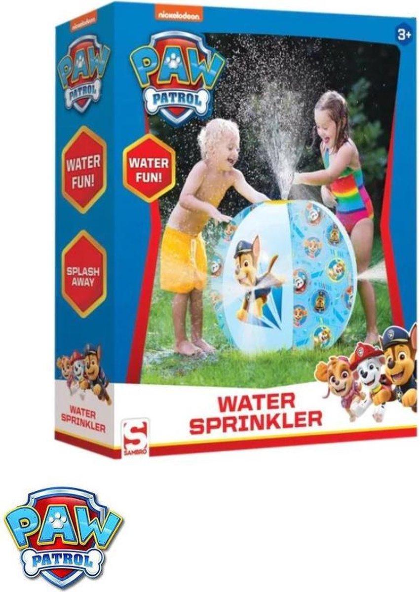 PAW Patrol - Water Fun - Standbal Sprinkler - 60Ø - Beach Ball Sprinkler - Blauw - Waterfontein kopen