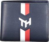 Tommy Hilfiger - Nautical monogram mini cc wallet - portemonnee heren - sky captain