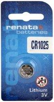 Lithium batterij Renata CR1025 (blister) 1 stuk