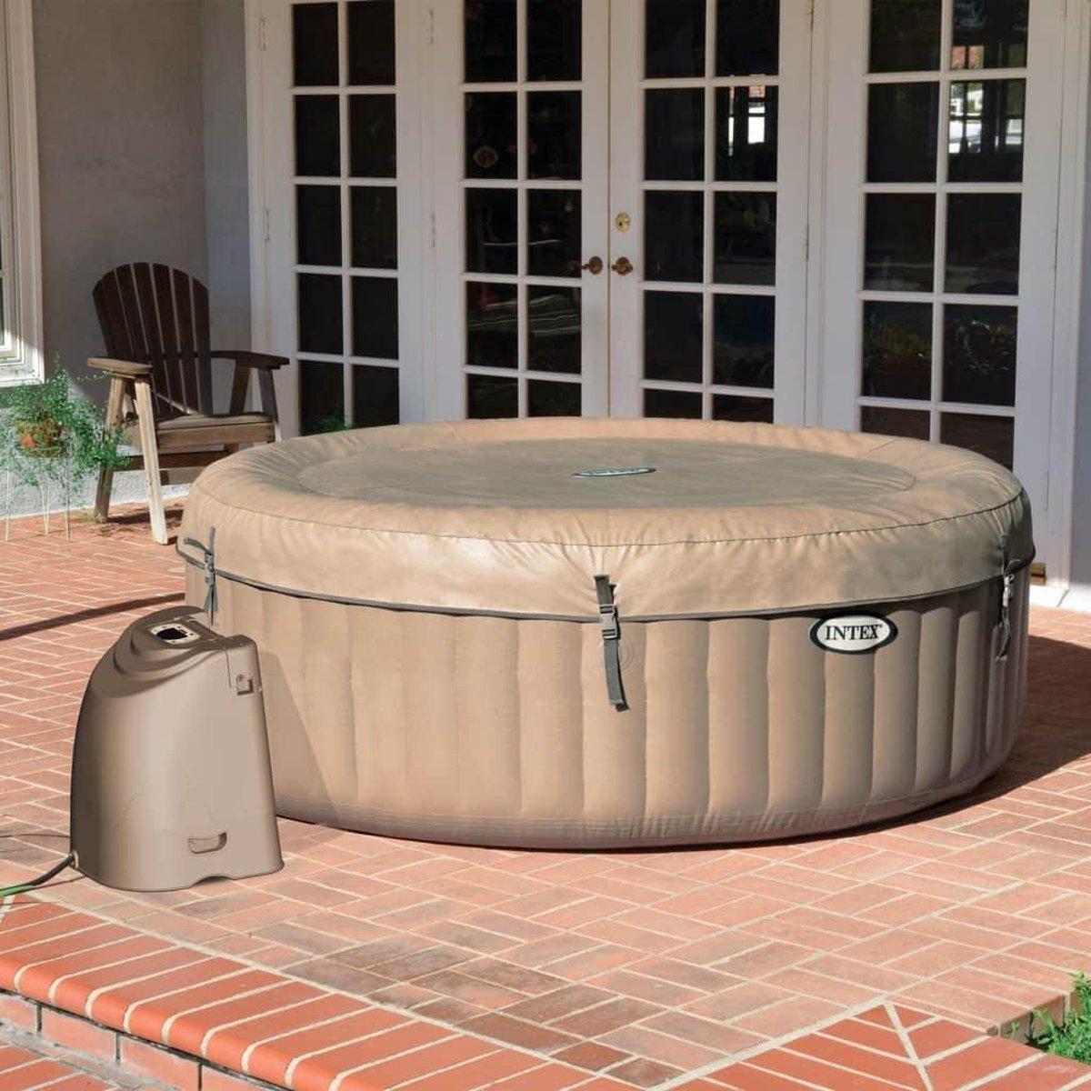 Intex PureSpa Opblaasbare spa met bubbelmassage 216x71 cm 6 persoons Steun Lokaal