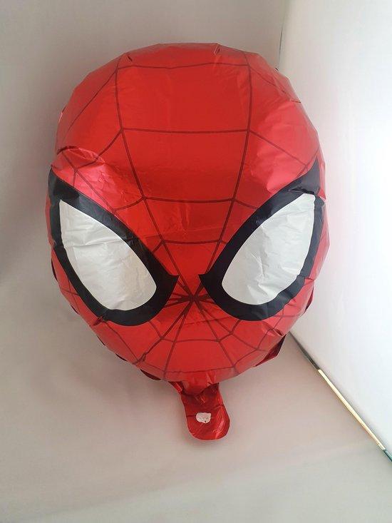 Spiderman ballon hoofd