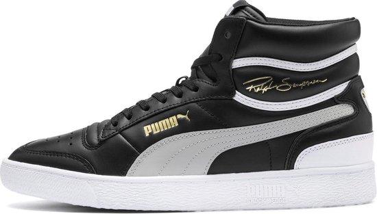 Puma - Heren Sneakers Ralph Sampson Mid - Zwart - Maat 42