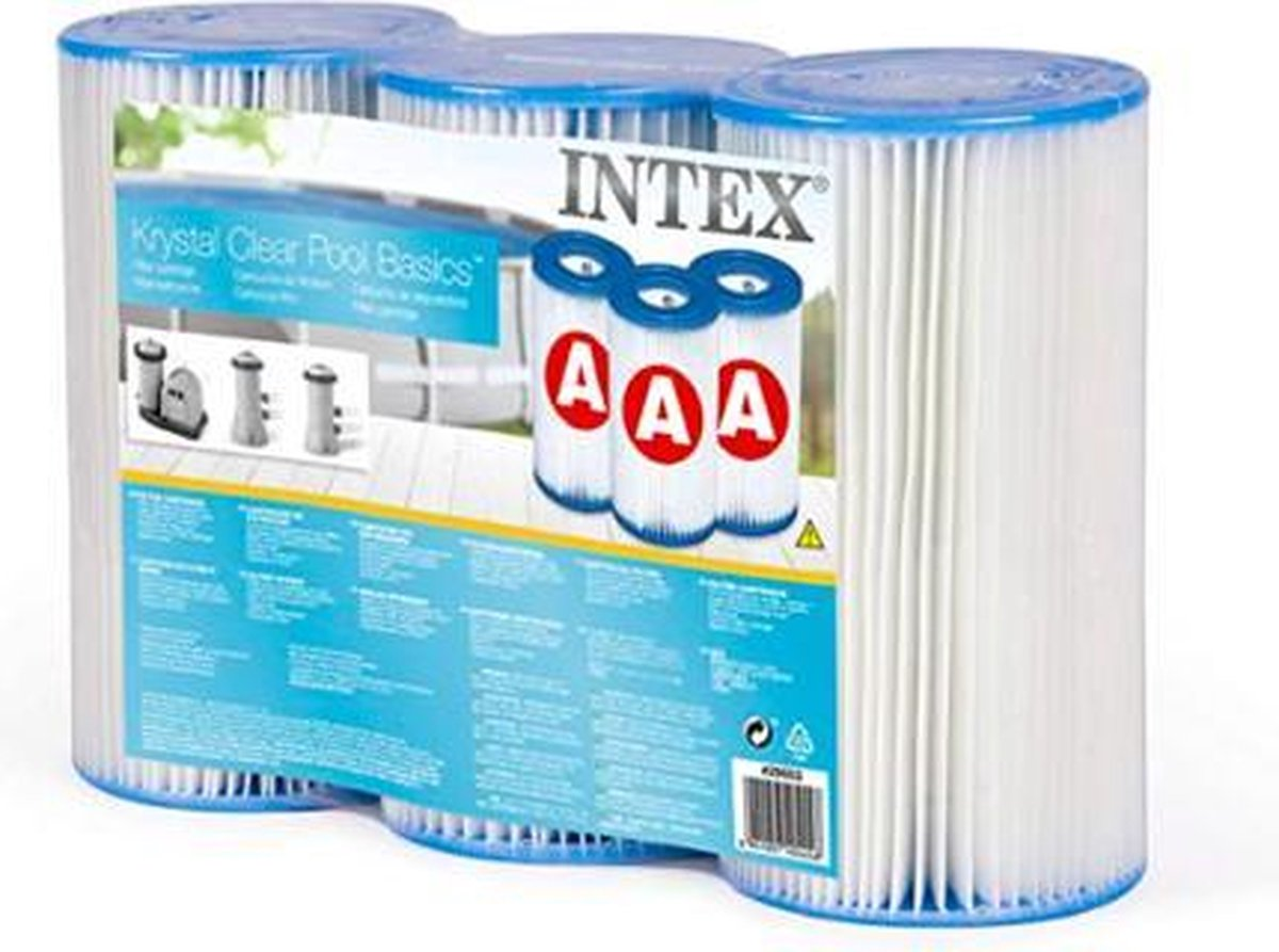 Intex Filter A Triple Pack