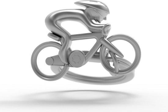 Metalmorphose sleutelhanger fiets