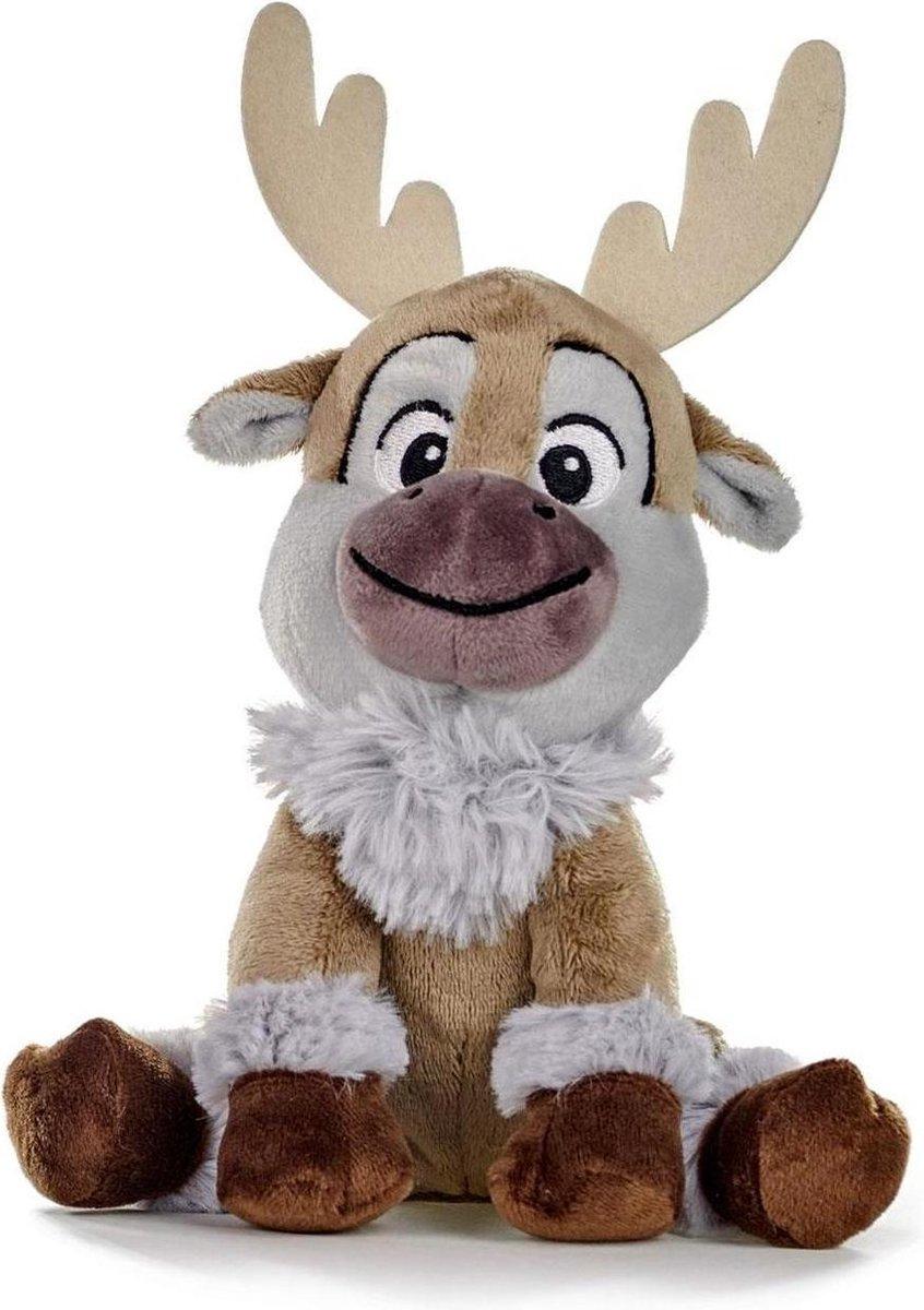 Frozen Sven knuffel 20 cm groot - Zacht pluche knuffel van Disney