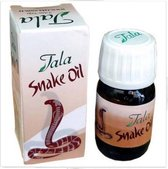HaarGroei versterkende SNAKE Hair Olie TALA SNAKE Oil
