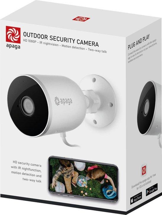 Apaga  Outdoor Security Camera - 1080P WIFI Smart Camera