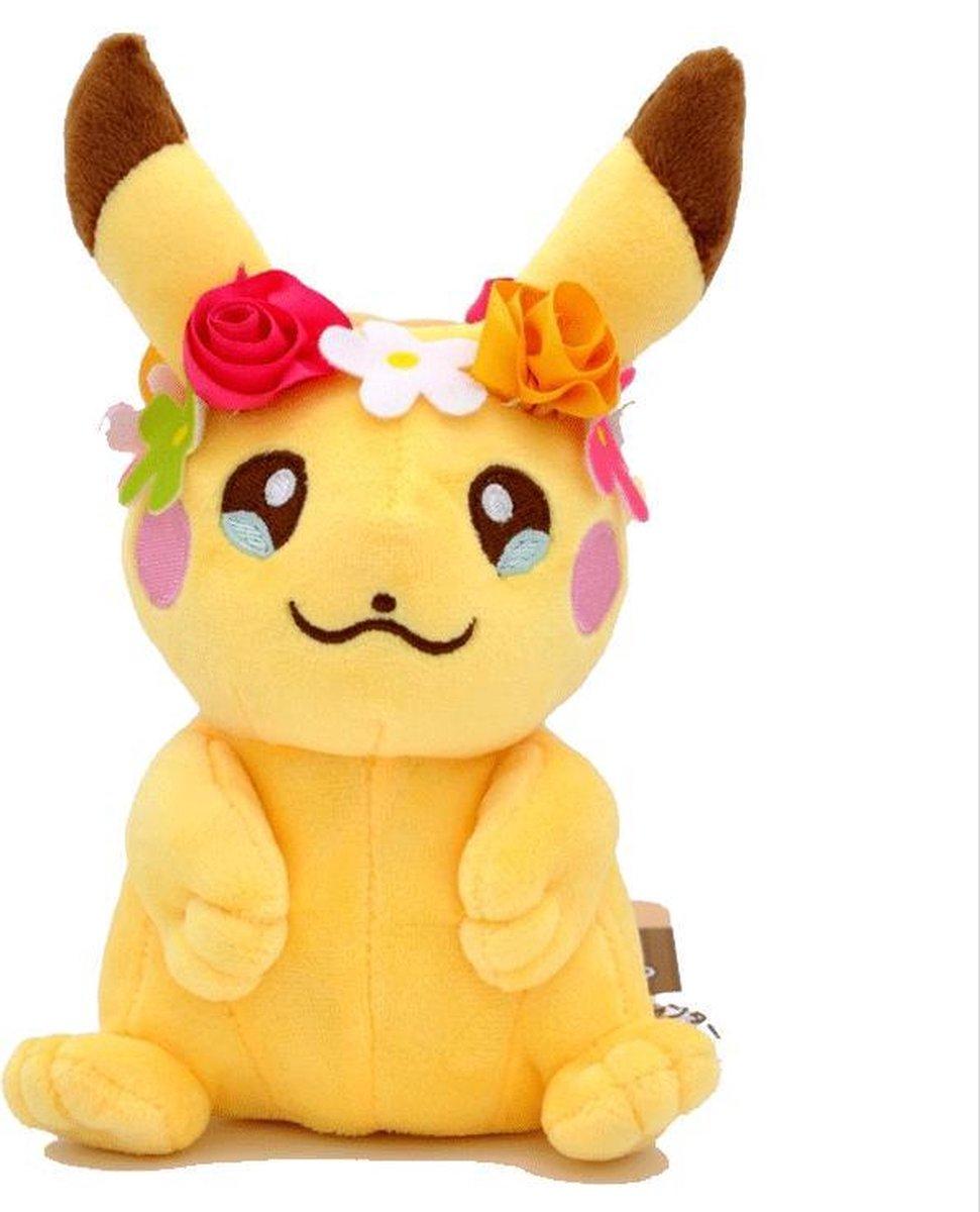 Pokemon pikachu Knuffel 18 cm pluche cute en zacht bloemen!