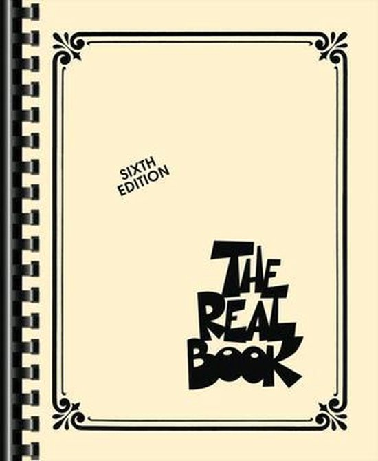 Boek cover The Real Book van Hal Leonard Corp. (Paperback)