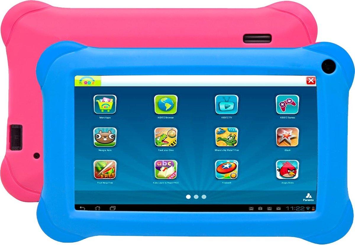 Denver TAQ-70373 Blue/Pink, 7 inch kinder tablet met KIDO'Z software en Android 10 16GB