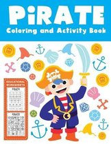 Pirate Coloring and Activity Book Educational Worksheets