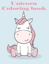 Unikorn coloring book