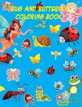 Bug and Butterfly coloring book