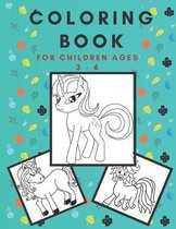 coloring book for children ages 3 - 6