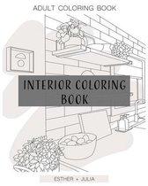 Interior Coloring Book