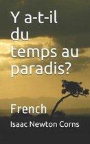 Boek cover Y a-t-il du temps au paradis? van Isaac Newton Corns