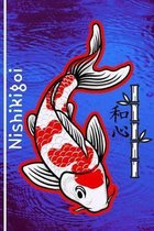 Nishikigoi: Koi Customized Compact Pond Care Log Book, Symbolizing Peace & Love. This Record Book Is Thoroughly Formatted, Great F