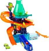 Hot Wheels City Color Shifters Color Splash Laboratorium - Speelset