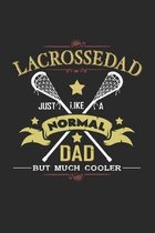 Lacrosse dad: 6x9 Lacrosse - grid - squared paper - notebook - notes