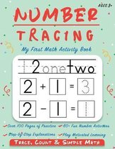Number Tracing - My First Math Activity Book