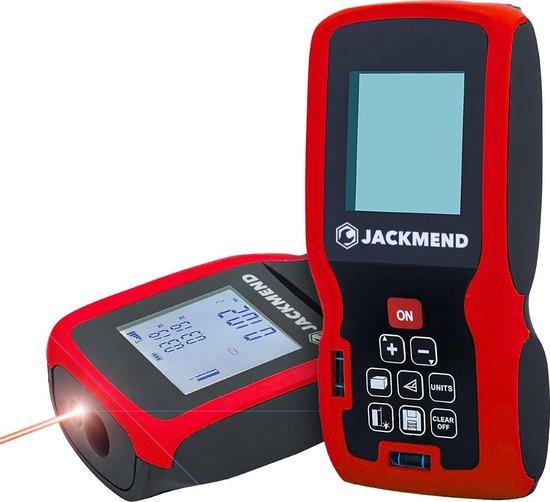 JACKMEND Professionele Laserafstandmeter met 100 Meter Bereik