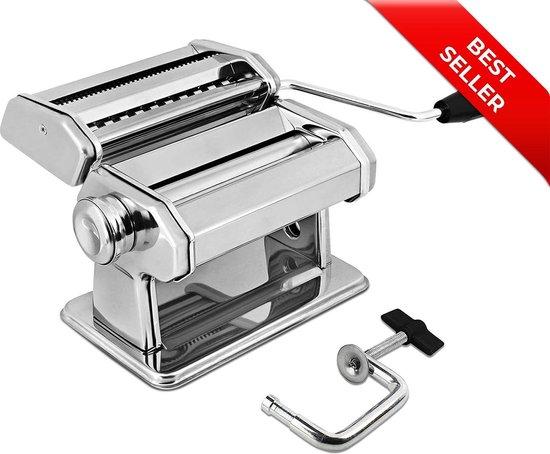 Palmero® Pastamachine - Pastamaker - Pasta machine - Inclusief Tafelgreep
