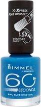 Rimmel London 60 Seconds Finish Nagellak - 840 Blue