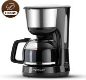 Aigostar Chocolate 30HIK - koffiezetapparaat/Filter-koffiezetapparaat - 1000W - 1.25L
