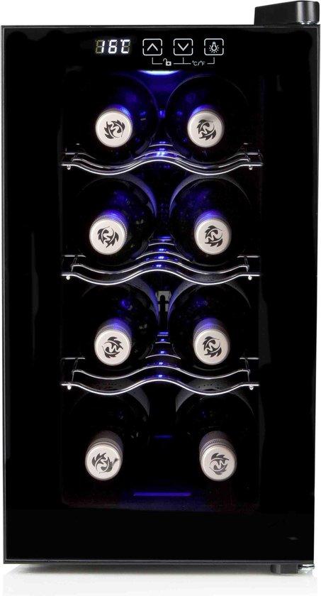 Wijnkoelkast: Primo PR108WK - Wijnkoelkast - 8 flessen, van het merk PRIMO