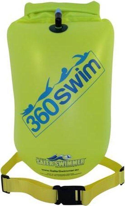 SaferSwimmer zwemboei Heavy Duty - Large - Groen