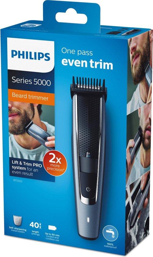 Philips Series 5000 BT5502/15 - Baardtrimmer