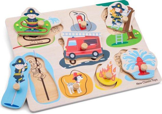 New Classic Toys Knoppuzzel Brandweer