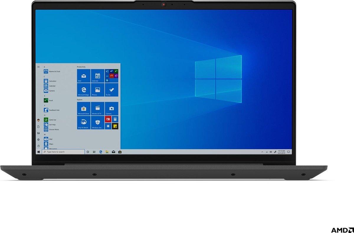 """Lenovo IdeaPad 5 Notebook Grafiet, Grijs 35,6 cm (14"""") 1920 x 1080 Pixels AMD Ryzen 5 16 GB DDR4-SDRAM 512 GB SSD Wi-Fi 6 (802.11ax) Windows 10 Home"""