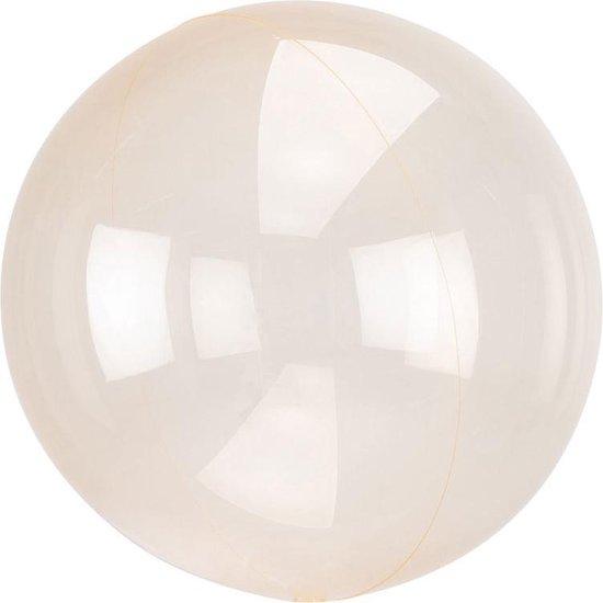 Ballon Orb Crystal Oranje - 46 Centimeter