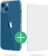 TORCE® iPhone 13 Hoesje - Case Transparant + Gratis Glass Screenprotector