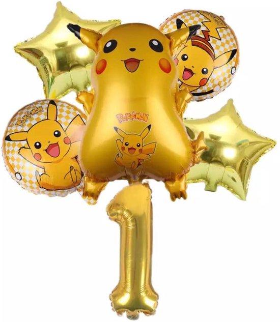 Pokemon Ballon Droom Thema Party Decoratie Benodigdheden Pikachu Verjaardagsfeestje , Nummer 1