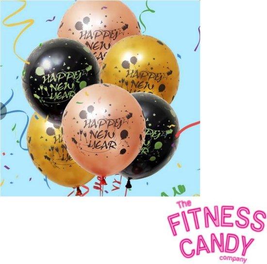 Oud en Nieuw ballonnen - Set van 6 [Ballonnen / Slingers]