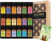 18 stuks Etherische oliën - Etherische olie - Essentiële Olie - Etherische Olie Set - Essentiële Olie Set - Aroma Olie - Aroma Therapie - 100% puur en natuurlijk - Geschikt voor Aroma diffuser- Home Sensation