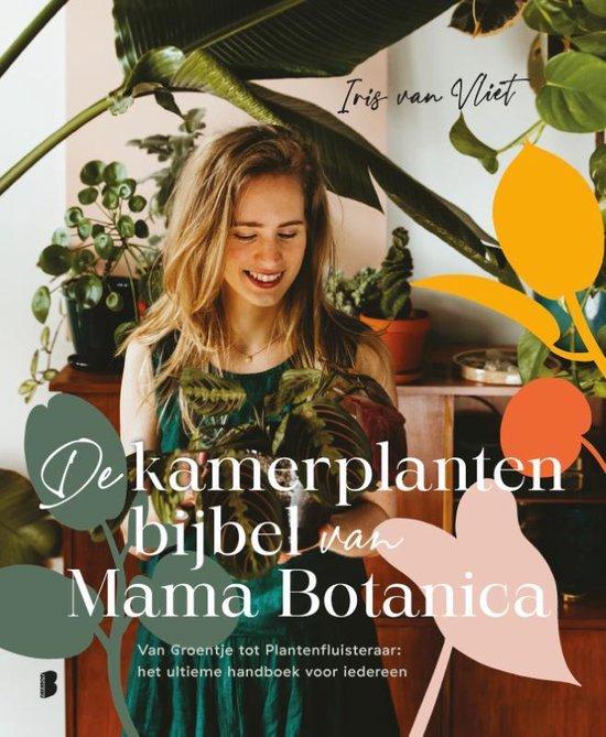 Boek cover De kamerplantenbijbel van Mama Botanica van Iris van Vliet (Hardcover)