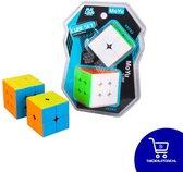 Moyu - Speed Cube Set - 3x3 - 2x2 - Upgraded versie - Breinbreker - Kubus