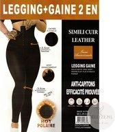 Shape ware - corrigerende legging - extra hoge taille band - Corset - Lange Dames Legging - S/M