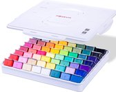 MIYA HIMI - Gouache - set van 56 kleuren x 30ml - in kunststof opbergbox