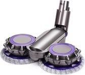 STEN   Dweil voor Dyson   Opzetstuk voor Dyson   Compatible voor Dyson V7 V8 V10 V11 V15  Dyson Onderdelen   Dyson Mondstuk   Dyson Mop - Blauw