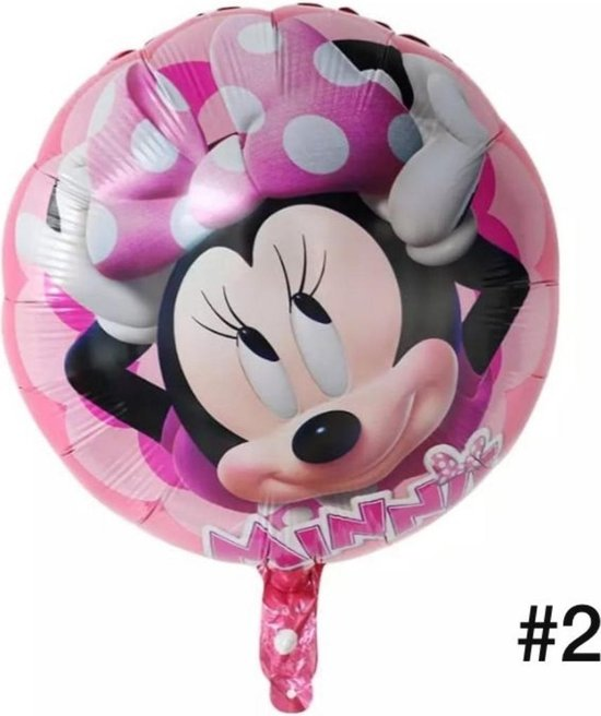 Disney Mickey of Minnie Mouse Folieballon dubbelzijdig/Verjaardag/Feest/Folieballon(2)