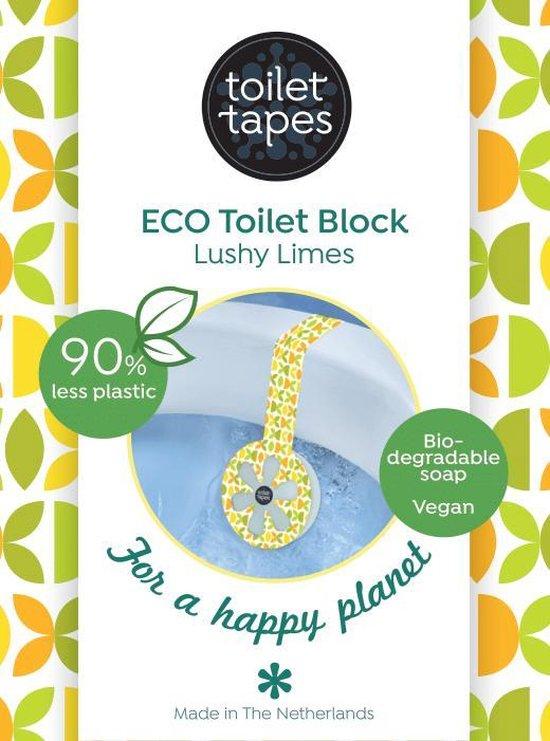 Toilet Tapes - duurzaam wc blokje - Lushy Limes