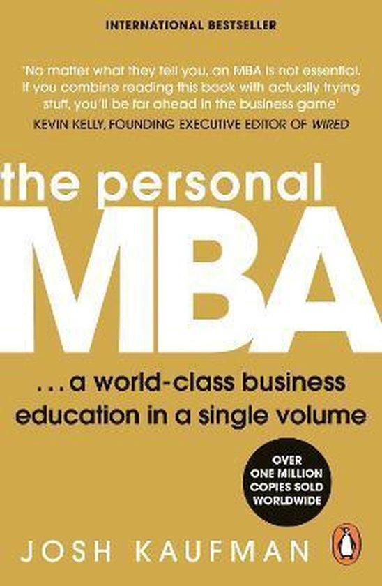 Boek cover The Personal MBA van Josh Kaufman (Paperback)