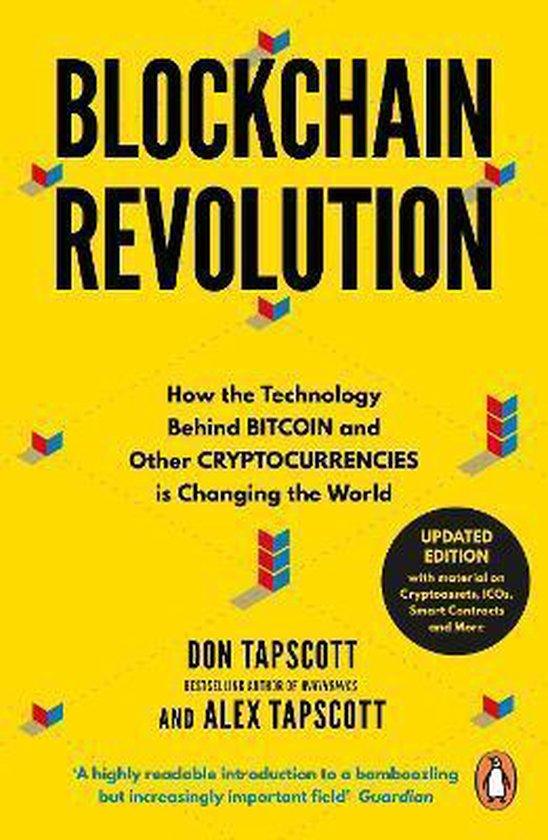 Boek cover Blockchain Revolution van Don Tapscott (Paperback)