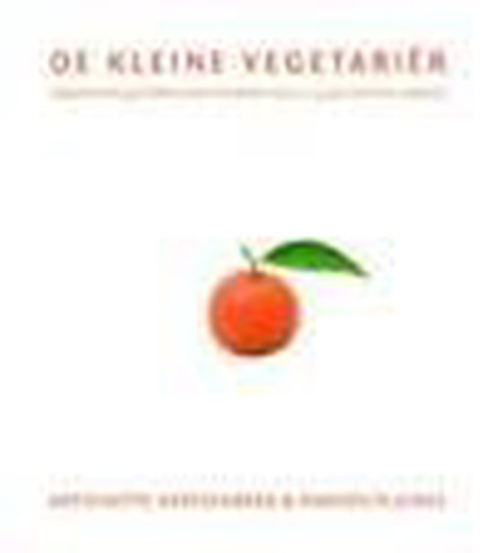 Cover van het boek 'De kleine vegetarier' van Antoinette Hertsenberg