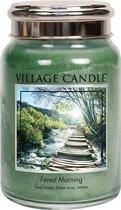 Village Candle Large Jar Forest Morning