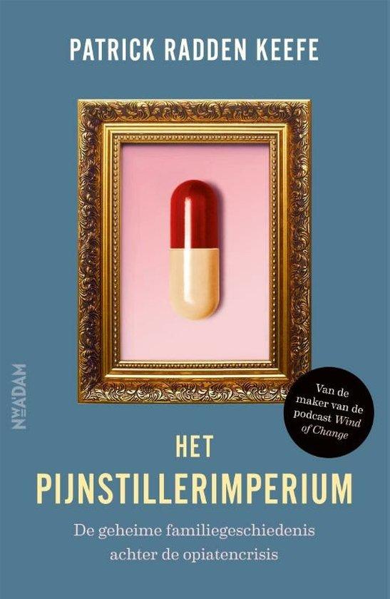 Boek cover Het pijnstillerimperium van Patrick Radden Keefe (Paperback)